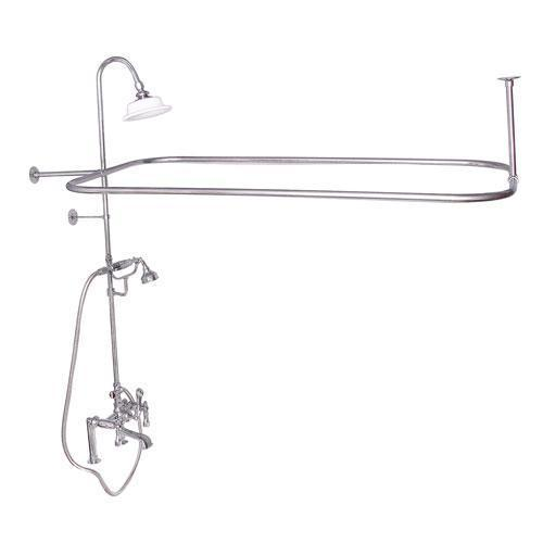 Code Rectangular Shower Unit - Lever / Polished Chrome
