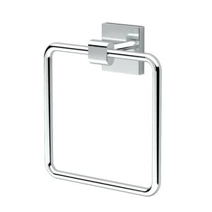 Elevate Towel Ring in Chrome Product Image