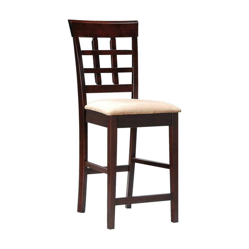 See Details - Gabriel Chestnut Counter-height Chair