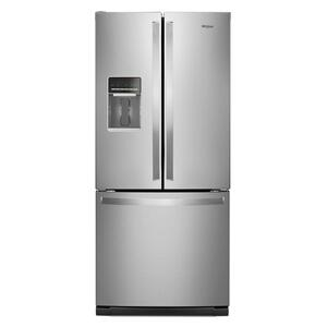 Whirlpool30-inch Wide French Door Refrigerator - 20 cu. ft.