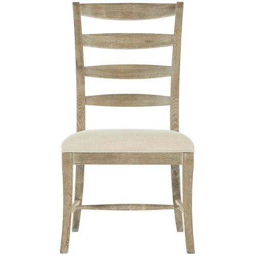 Rustic Patina Ladderback Side Chair in Sand (387)