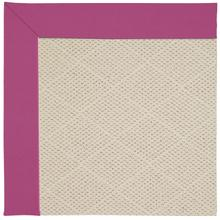 Creative Concepts-White Wicker Canvas Hot Pink Machine Tufted Rugs