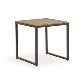 """761822ET 22"""" Square End Table with PoliSoul® Top"""