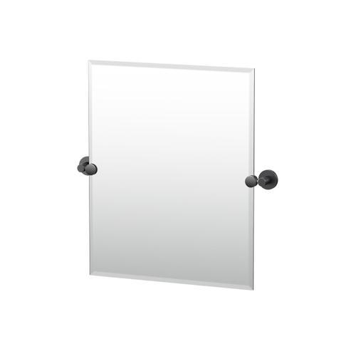 Reveal Rectangle Mirror in Matte Black