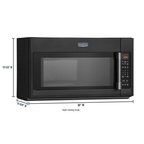 Maytag - Over-The-Range Microwave With Interior Cooking Rack - 2.0 Cu. Ft.