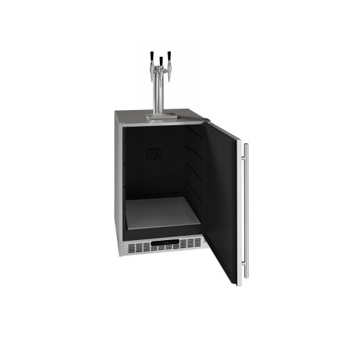 """24"""" 3 Tap Nitro Coffee Dispenser With Stainless Solid Finish (115 V/60 Hz Volts /60 Hz Hz)"""
