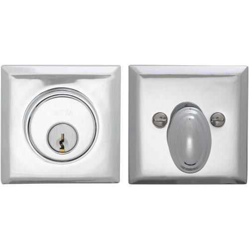 Product Image - Rectangular Auxiliary Deadbolt Kit in (US26 Polished Chrome Plated)