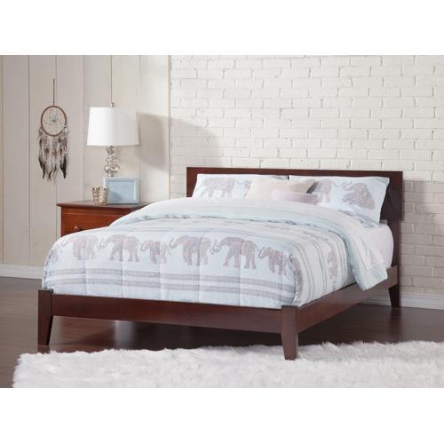 Orlando King Bed in Walnut