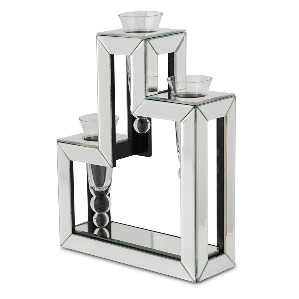 See Details - 3-tier Glass Vase 128