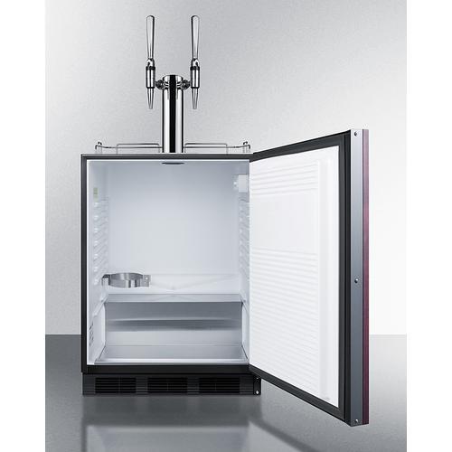 "Product Image - 24"" Wide Built-in Coffee Kegerator, ADA Compliant"