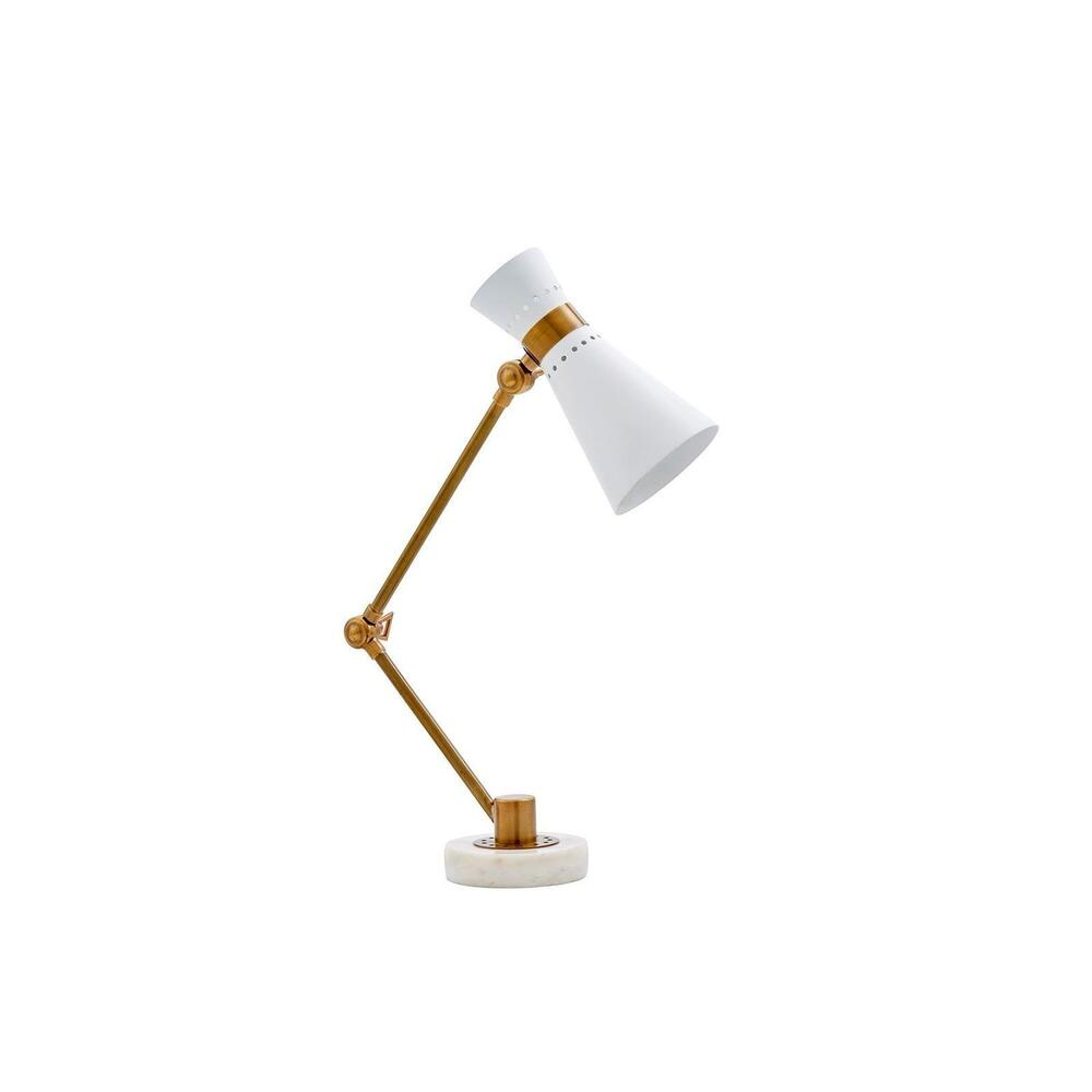 Clipper Table Lamp, White