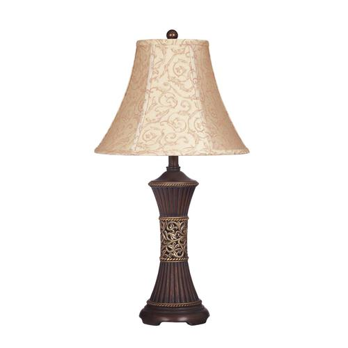 Signature Design By Ashley - Mariana - Bronze Finish Poly Table Lamp