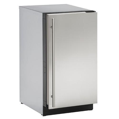 "U-Line - 3018clr 18"" Clear Ice Machine With Stainless Solid Finish, No (115 V/60 Hz Volts /60 Hz Hz)"