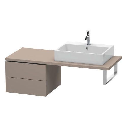 Duravit - Low Cabinet For Console, Basalt Matte (decor)