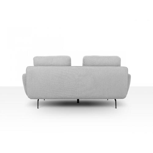 VIG Furniture - Divani Casa Dolly - Modern Light Grey Loveseat