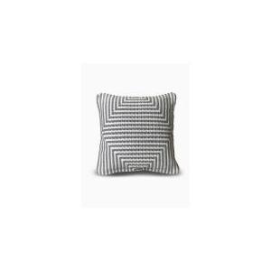 "Fab Habitat - Denver Indoor Outdoor Decorative Pillow - Gray (20"" x 20"")"