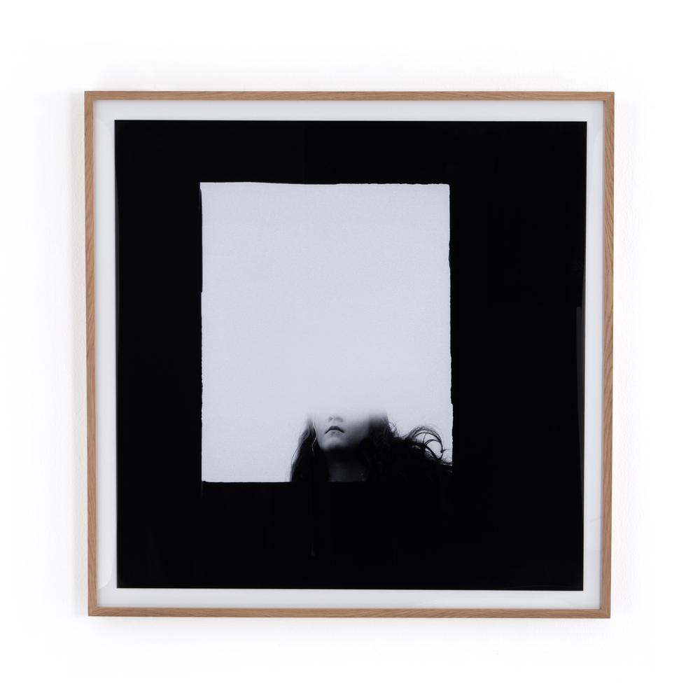 Face Gone By Annie Spratt Framed Paper-v