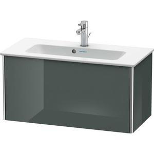 Vanity Unit Wall-mounted Compact, Dolomiti Gray High Gloss (lacquer)