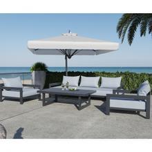 See Details - Renava Wake - Modern Charcoal Outdoor Sofa
