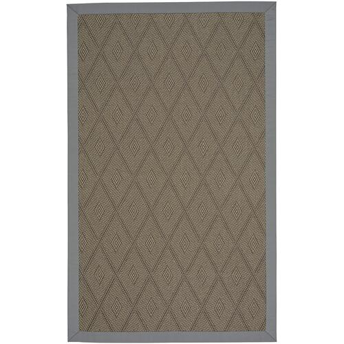 Savanna-Earl Gray Canvas Charcoal Machine Woven Rugs