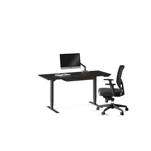 """BDI Furniture - Sequel 20 6151 Standing Desk  60""""x24"""" in Charcoal Stained Ash"""