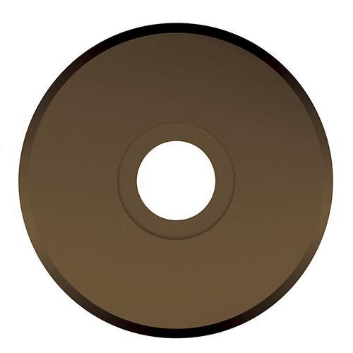 Baldwin - Satin Brass and Black R016 Estate Rose