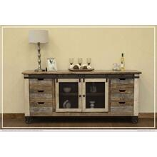 "80"" TV Stand 6 Drawer, 2 Door"