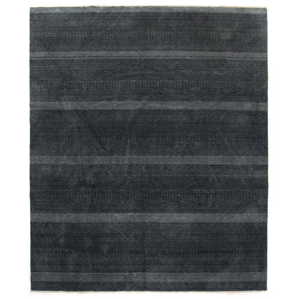 9'x12' Size Dark Charcoal Finish Alessia Rug