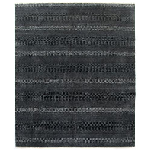 Four Hands - 9'x12' Size Dark Charcoal Finish Alessia Rug