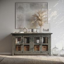 View Product - Rustic Shores 4 Door Low Cabinet