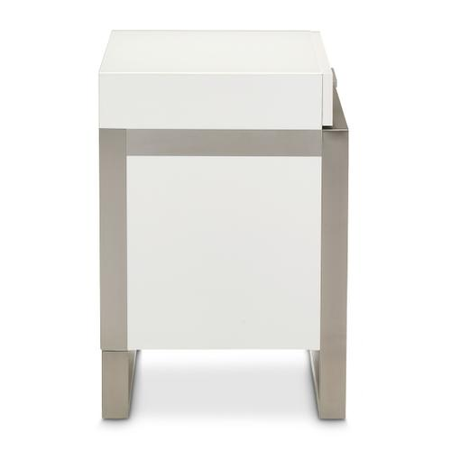 Amini - Accent Cabinet-night Stand-end Table
