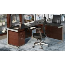 See Details - TC-223 Task Chair 223DHL Task Chair (Leather) in Black
