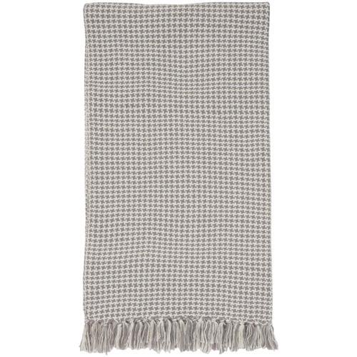 """Throw Blankets Sh470 Grey 50"""" X 60"""""""
