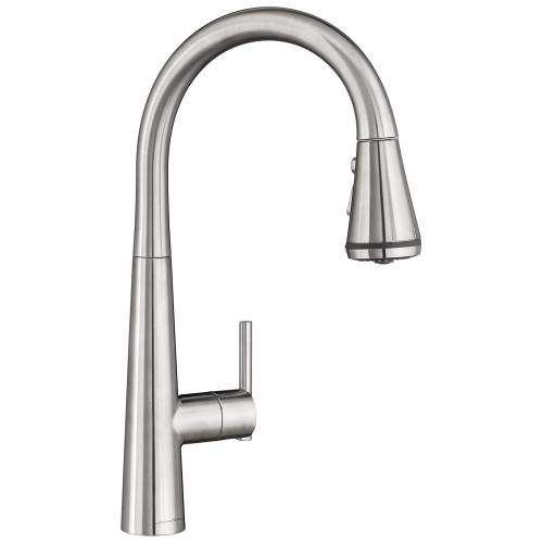 American Standard - Edgewater Pull-Down Kitchen Faucet with SelectFlo - Stainless Steel