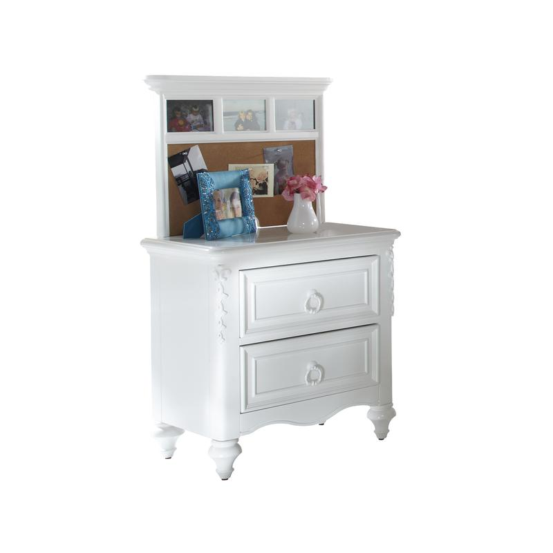 Ava Nightstand Back Panel