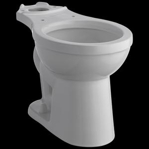 White Round Front Bowl Product Image