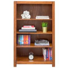 Erica Square Cut Profile Bookcase 2448 with 3 shelves