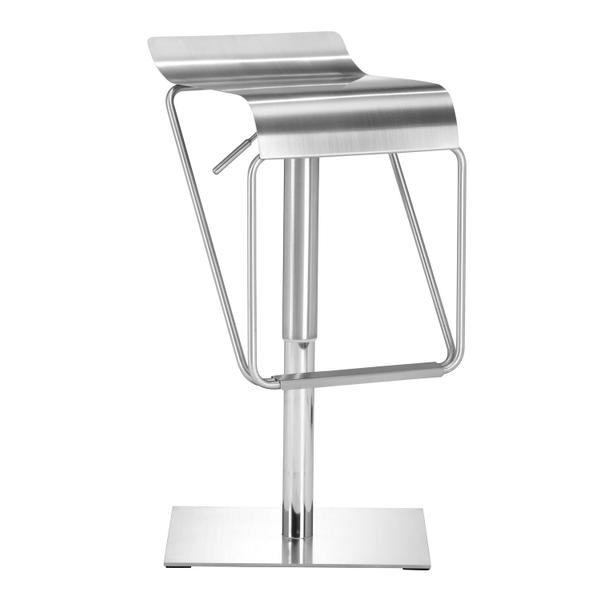 See Details - Dazzer Barstool Brushed Stainless Steel