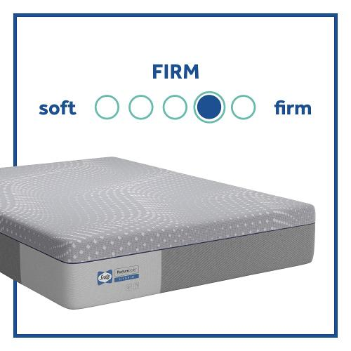 Sealy - Elsanta - Firm - Hybrid - Full
