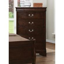 CLEARANCE Louis Philippe Five-drawer Chest