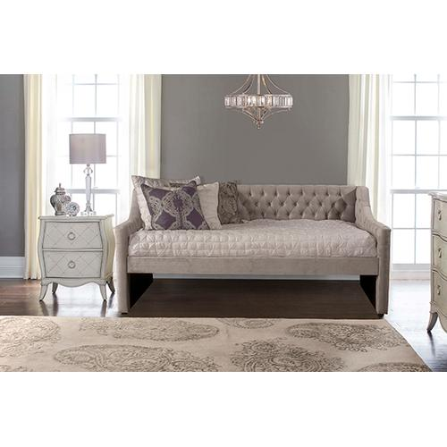 Hillsdale Furniture - Jaylen Complete Twin-size Daybed, Silver