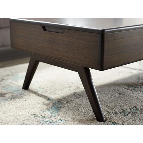 Greenington Fine Bamboo Furniture - Rhody Lift Top Coffee Table, Havana