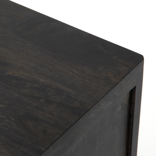 Black Wash Finish Sydney Tall Dresser