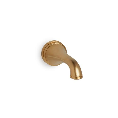 Almond Gold Grey Wall Mount Tub Spout