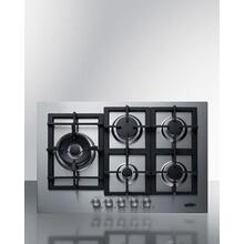 """See Details - 30"""" Wide 5-burner Propane Gas Cooktop In Stainless Steel"""