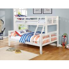 See Details - Ashmore White Twin/ Full Bunkbed