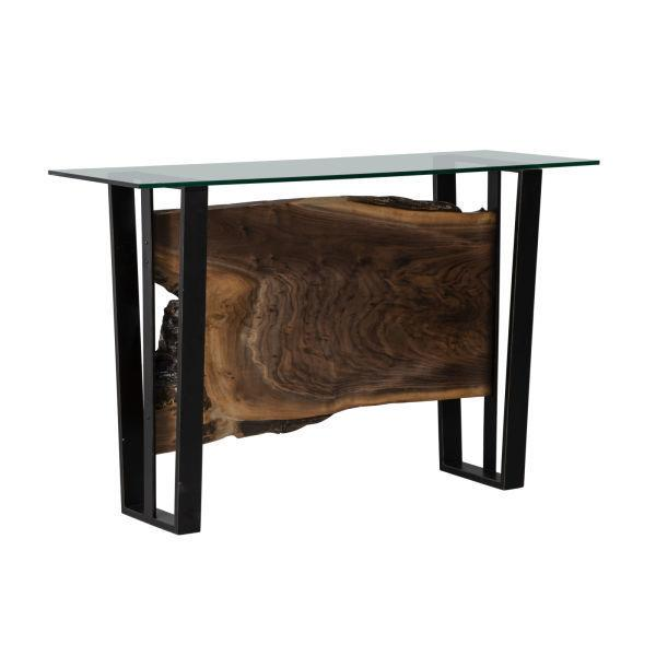 See Details - Live Edge Console Table