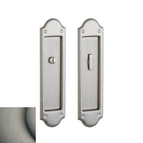 Baldwin - Antique Nickel PD016 Boulder Pocket Door