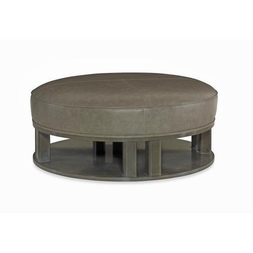 Garrison Round Ottoman