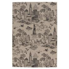 Finesse-NY Toile Noir Machine Woven Rugs